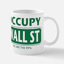 occupy wall st 99-001 Mug