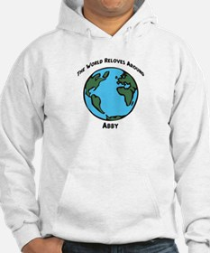 Revolves around Abby Hoodie