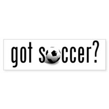 got soccer? Bumper Bumper Sticker