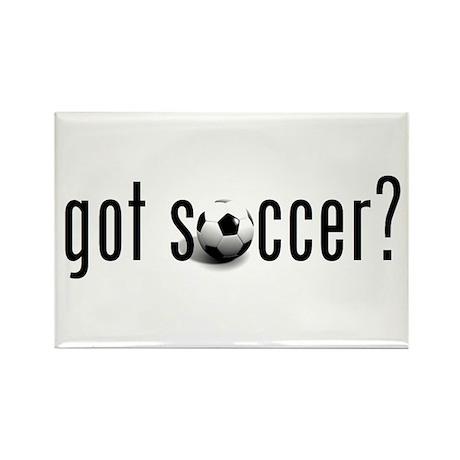 got soccer? Rectangle Magnet