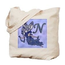 Blue Fairy Monogram BN Tote Bag