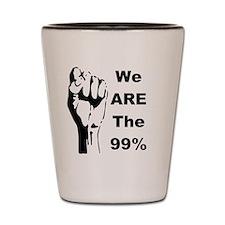 99 percent 1-001 Shot Glass