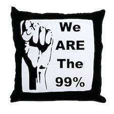 99 percent 1-001 Throw Pillow
