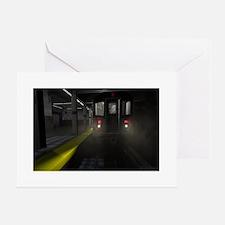 NYC Subway Greeting Cards
