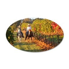 Oct? (1) 35x21 Oval Wall Decal