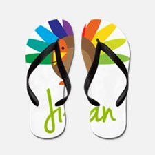 Jillian-the-turkey Flip Flops