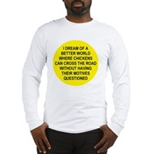 2000x2000chickens5 Long Sleeve T-Shirt