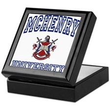 MCHENRY University Keepsake Box