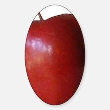 Apple Sticker (Oval)