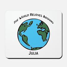 Revolves around Julia Mousepad