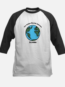 Revolves around Julianna Kids Baseball Jersey