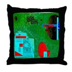 Olly Olly Oxen Free II by Bre Throw Pillow