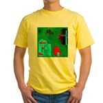 Olly Olly Oxen Free II by Bre Yellow T-Shirt