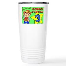 Cowboy Turned 3 Puzzle Travel Mug