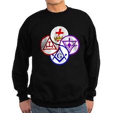 York Rite Pinwheel Sweatshirt