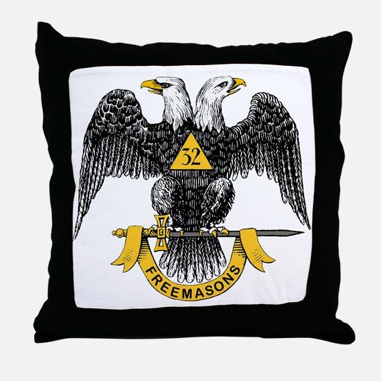 Scottish Rite Throw Pillow