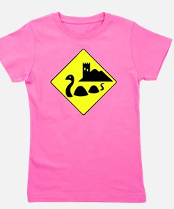 nessie copy Girl's Tee