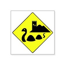 "nessie copy Square Sticker 3"" x 3"""
