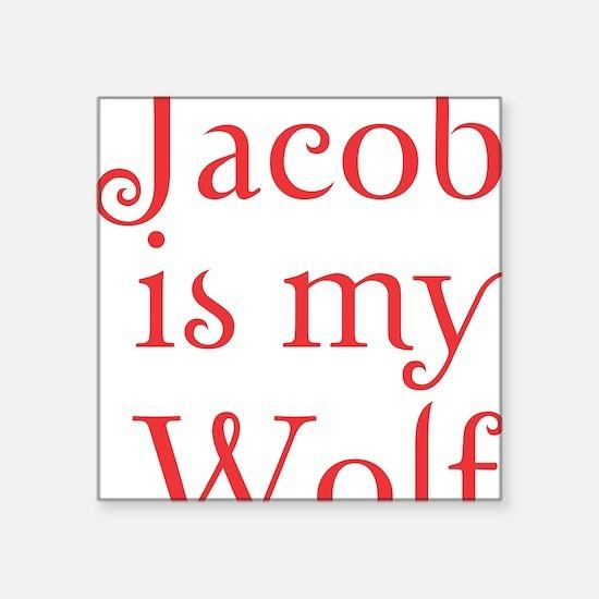 "jacobwolf copy Square Sticker 3"" x 3"""