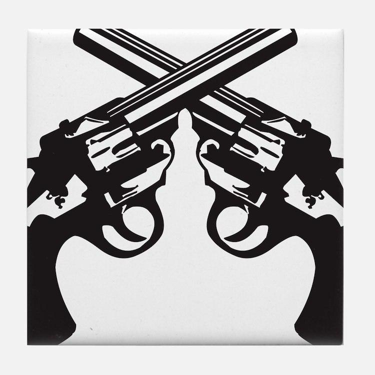 guns Tile Coaster
