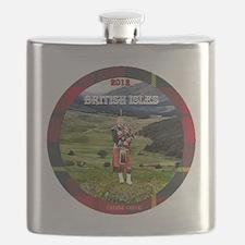 Bagpiper Farewell - Flask