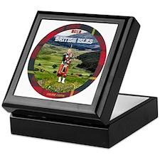 Bagpiper Farewell - Keepsake Box