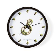 Phyllis Initial S Wall Clock