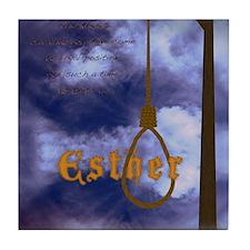 Esther Poster Tile Coaster