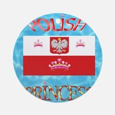 POLISH Round Ornament