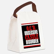 ocdcastlejournal Canvas Lunch Bag
