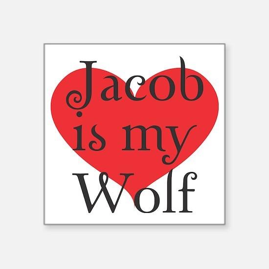 "jacobwolf2 copy Square Sticker 3"" x 3"""