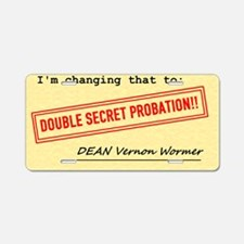 probation2 Aluminum License Plate