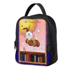 The Carefree Cat Neoprene Lunch Bag