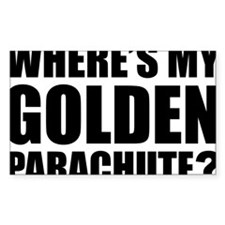 golden Parachute Decal