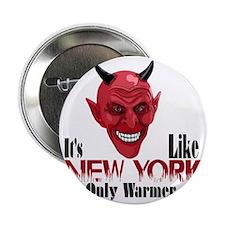 """NY-warmer-10 2.25"""" Button"""