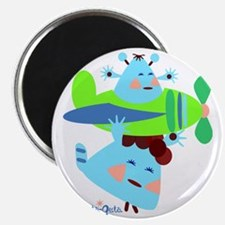 born-to-fly-green2 Magnet