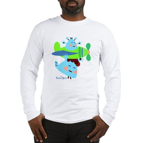 born-to-fly-green2 Long Sleeve T-Shirt
