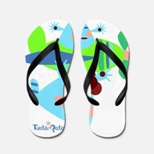 born-to-fly-green2 Flip Flops