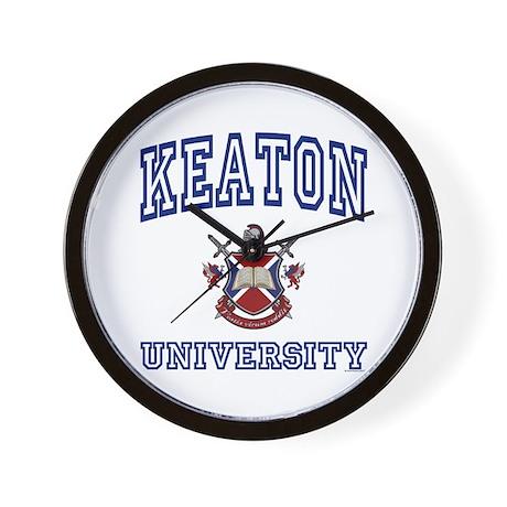 KEATON University Wall Clock