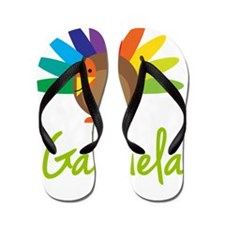Gabriela-the-turkey Flip Flops