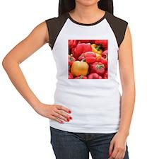 Peppers Women's Cap Sleeve T-Shirt