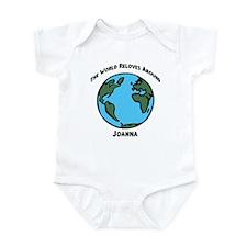 Revolves around Joanna Infant Bodysuit
