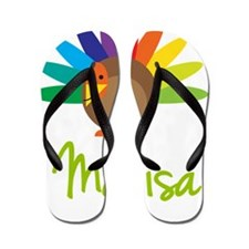 Marisa-the-turkey Flip Flops