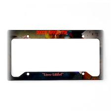 TITLELiverLittleMATTE License Plate Holder