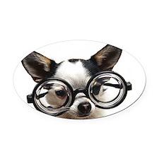 Chi Studi laptop Oval Car Magnet