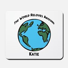 Revolves around Katie Mousepad