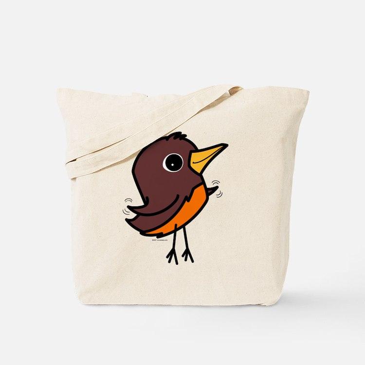 Spring Robin Tote Bag