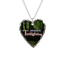 2.25AitButton Necklace Heart Charm