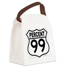 PERCENT99 Canvas Lunch Bag