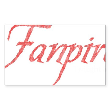 Fanpire 2 Sticker (Rectangle)